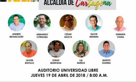 Candidatos a las atípicas se medirán en el #DebateCartagena