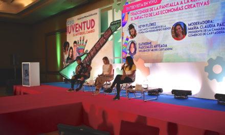 Foro Juventud, motor del cambio, un espacio para jóvenes que piensan en el emprendimiento