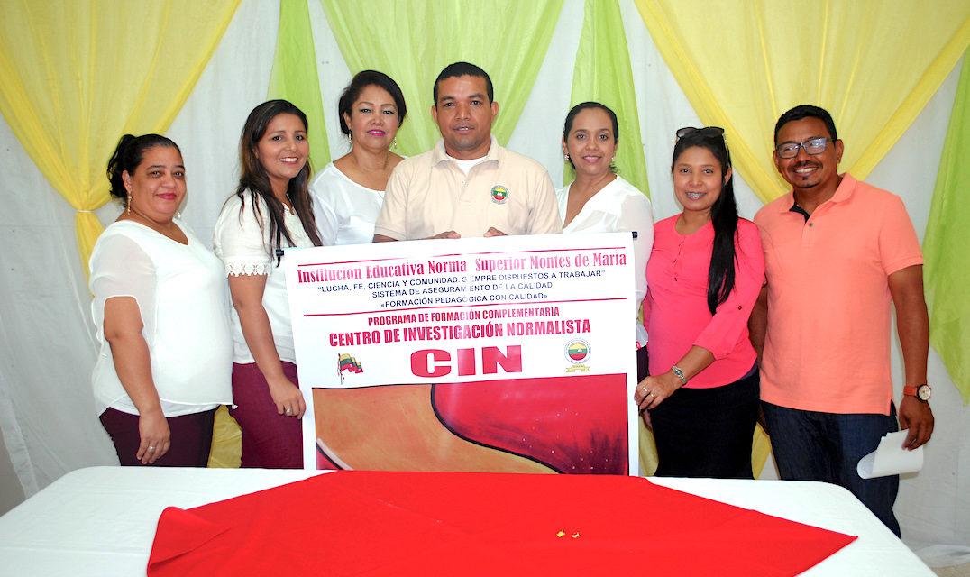 Normal Superior Montes de María inauguró Centro de Investigación Normalista en San Juan Nepomuceno