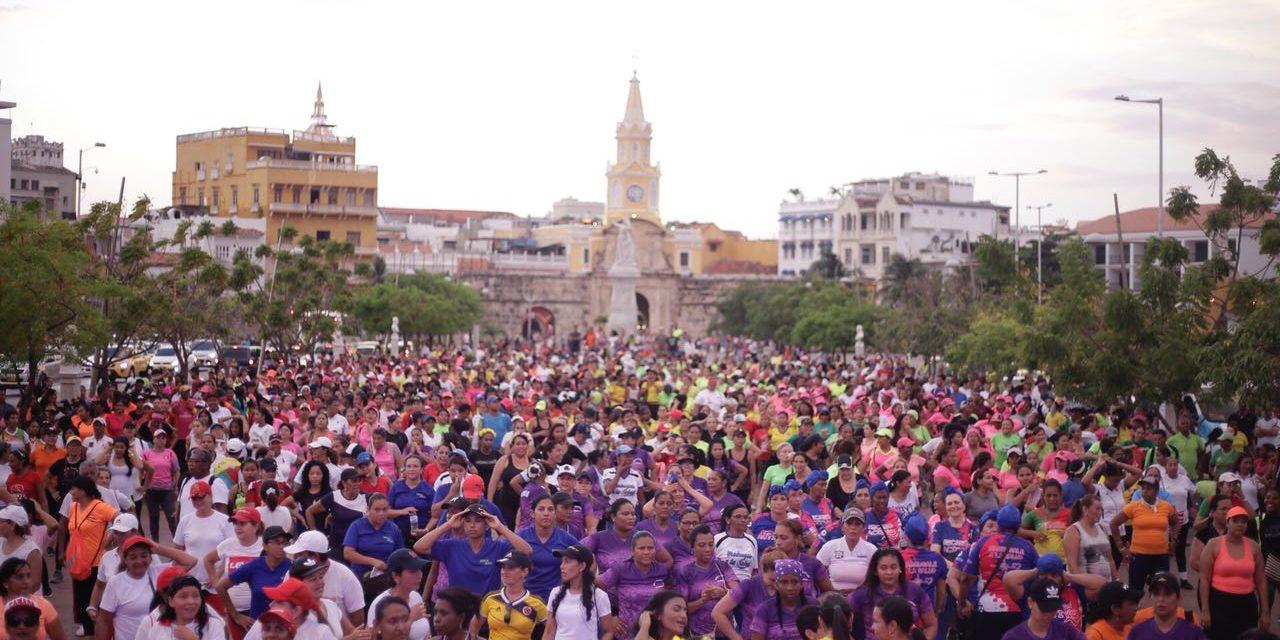Miles de cartageneros celebraron Día Mundial de La Actividad  Física