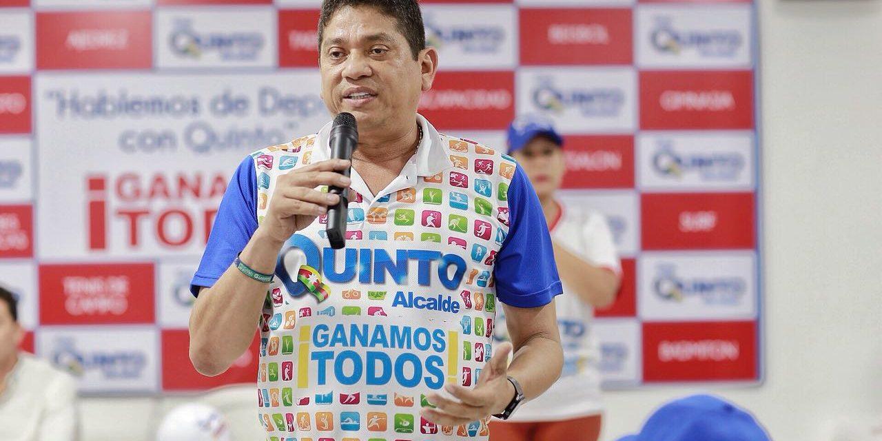 """""""Antonio Quinto Guerra Será El Acalde Del Deporte"""""""