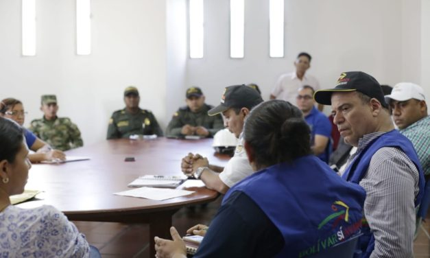 """Gobernador de Bolívar insta a los alcaldes municipales del bajo Cauca a que también cumplan con sus obligaciones como """"responsables directos de los procesos de gestión del riesgo""""."""