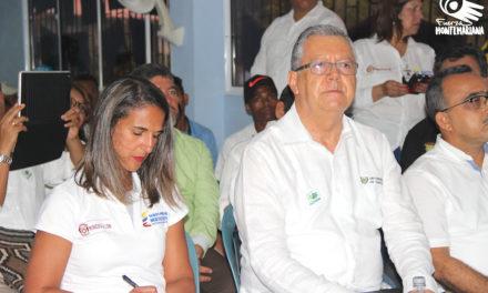 Ministra de Educación visitó la institución educativa Caracolí, en la Alta Montaña de El Carmen de Bolívar