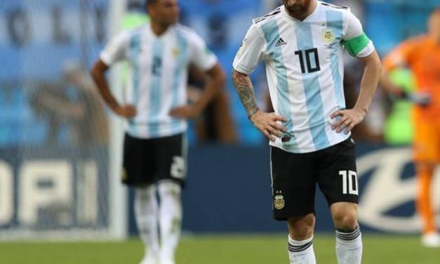 Argentina le dice adiós a la Copa Mundo