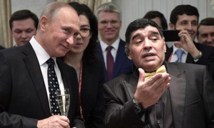 MUNDIAL DE RUSIA Y POLITICA