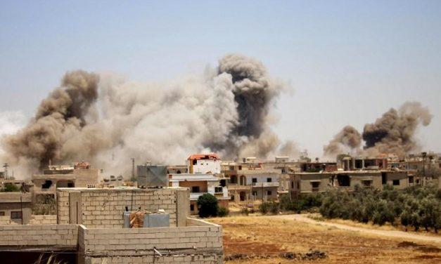 CIVILES Y NIÑOS MUEREN EN ATAQUE AÉREO EN SIRIA