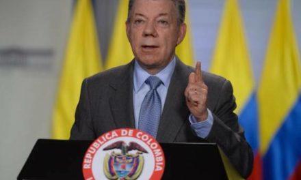 Santos se pronuncia ante las amenazas contra periodistas