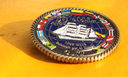 Tradiciones marineras a bordo del buque escuela ARC Gloria
