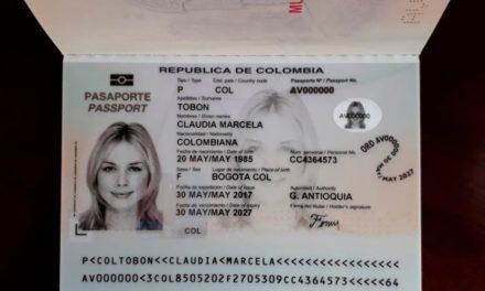 Cancillería colombiana da a conocer nuevo pasaporte