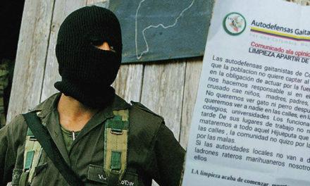 Autodefensas Gaitanistas se pronuncian sobre asesinato de líderes