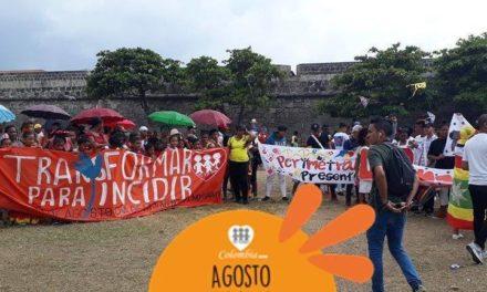Marcha por el día nacional de las juventudes indignadas