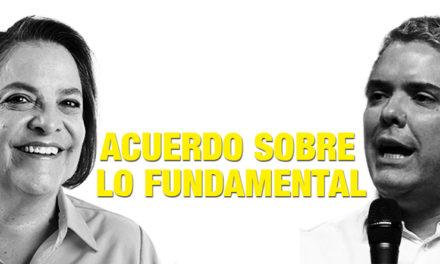 Clara López propone un pacto entre la oposición y el gobierno