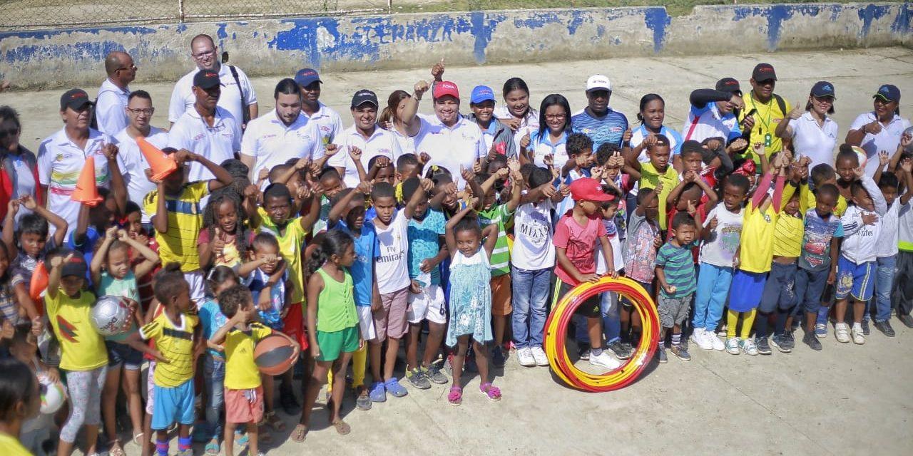 IDER y Aguas de Cartagena inauguran núcleo de formación e iniciación deportiva en el barrio Villa Hermosa