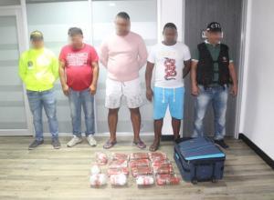 Fueron hallados 15 kilos de cocaína en un hotel de la ciudad