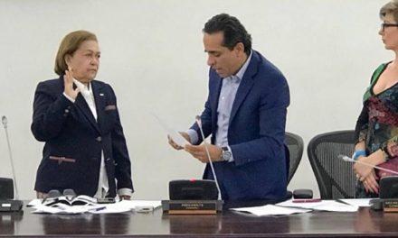 Senadora Daira Galvis nueva vicepresidenta de la comisión de Derechos Humanos del Congreso