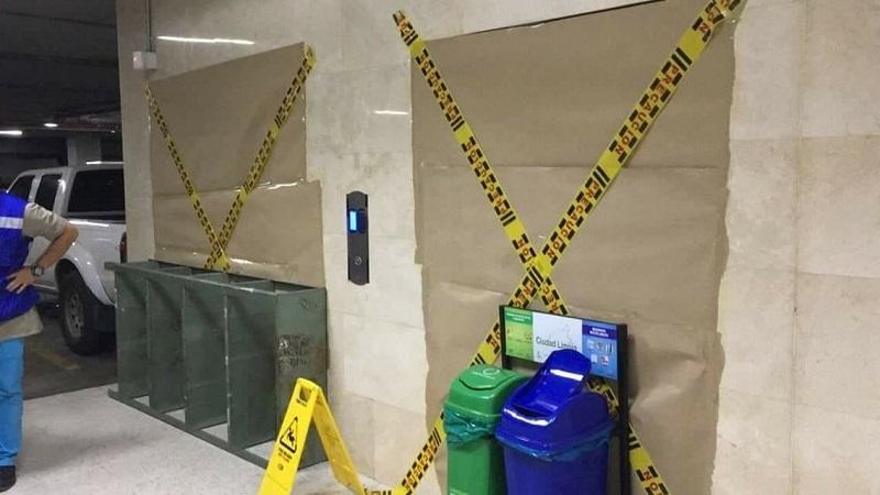Desplome de ascensor causa accidente en el Palacio de Justicia en Cali