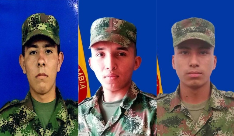 Secuestrados tres soldados en zona rural de Arauca
