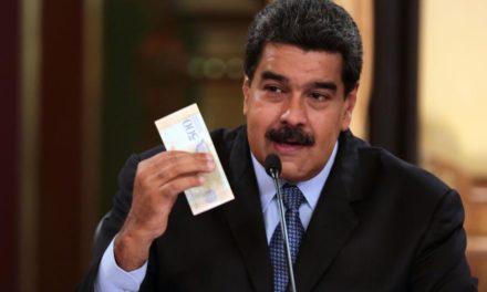 Fuerte aumento del porcentaje del salario mínimo en Venezuela