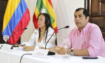 Alcaldesa (e) Yolanda Wong realiza Consejo de Gobierno en Cartagena