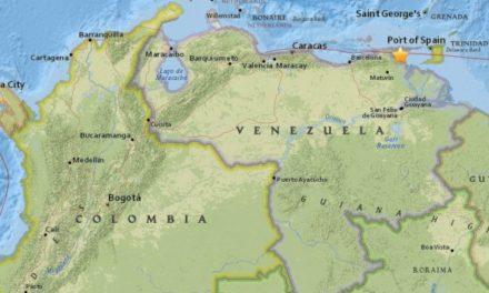 Terremoto en Venezuela se sintió en Colombia