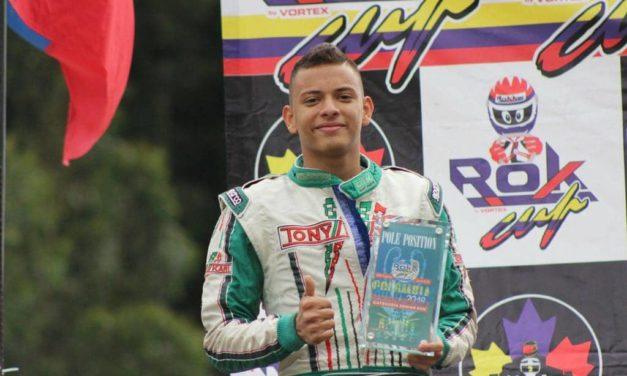 Andrés Castro, listo para el Mundial de Karting