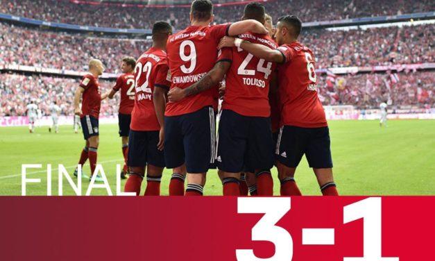 Bayern Munich gana, James brilla