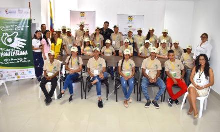 60 estudiantes de la Alta Montaña y Macayepos visitaron por primera vez las universidades de Cartagena
