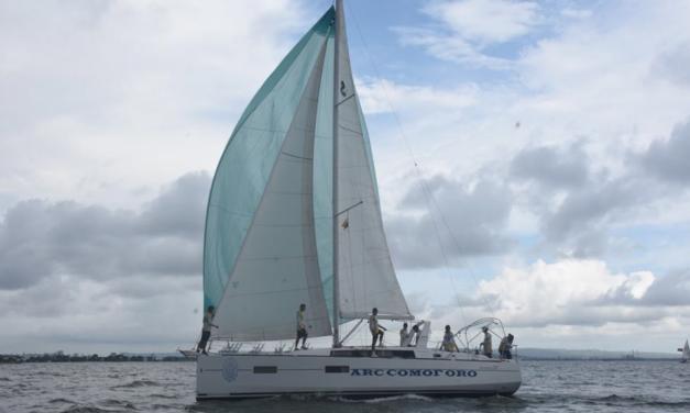 Con éxito arrancó primera serie de la regata One Class Presencia en el Mar