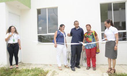 Corvivienda entregó 7 unidades habitacionales en ciudad bicentenario