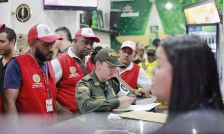Caravana de Seguridad hizo presencia en Bocagrande