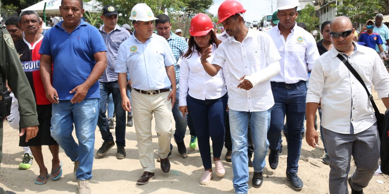Distrito adecuará vía de Mandela