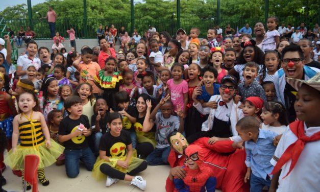2000 familias celebraron el día del niño en el parque espíritu del manglar