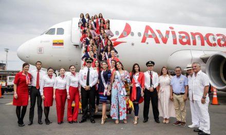 Vuelo Real Srta. Colombia 2019 llegó a Cartagena