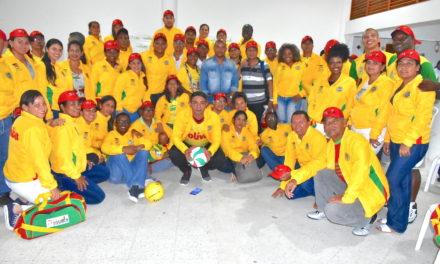 Gobernación de Bolívarentregó bandera y uniformes a docentes que representarán al departamento en la fase nacional de los juegos del magisterio 2018
