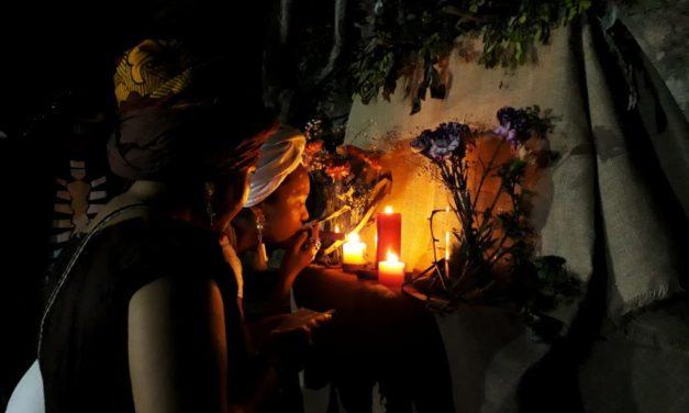 Brujas cartageneras se dieron cita en el Museo Histórico