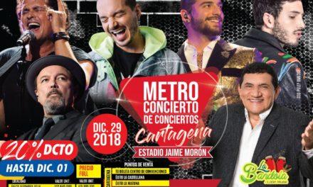 Metro concierto de conciertos