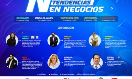 Nuevas tendencias en negocios, el ciclo de conferencias que la Cámara de Comercio de Ibagué ofrece a los empresarios