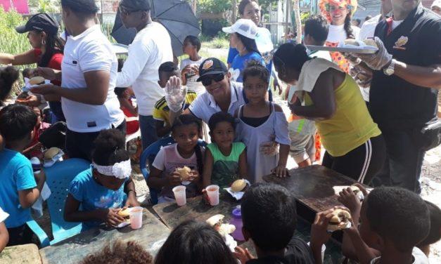 Un día especial para los niños de la fundación Sonrisas de León