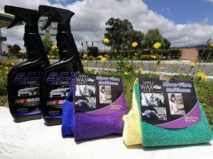 Super Candle Wax la solución para lavado en seco para carros