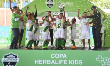 Talentos Cartageneros campeones de la Copa Nacional Herbalife 2018