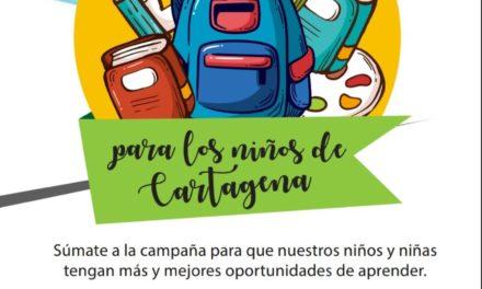 Gestora Social inicia campaña para donación de útiles escolares