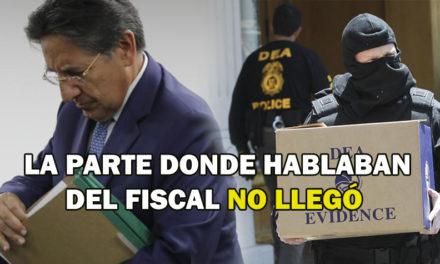 Fiscalía habría remitido información incompleta de la DEA sobre Cartel de la Toga