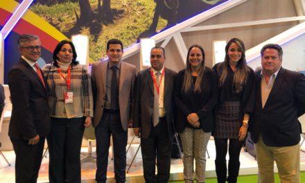 Pedrito Pereira e Irvin Pérez promueven oferta turística en Fitur