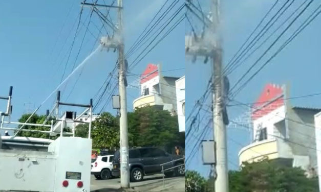 Lavado de redes eléctricas en los barrios