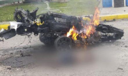 Atentado terrorista con carro bomba en Bogotá