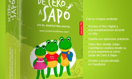 "Lanzamiento del libro ""De Cero a Sapo"" del coach en marketing digital Julián Castiblanco"