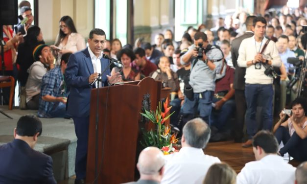 Gobernador de Bolívar hace presencia en Audiencia de Vigilancia de Hidroituango