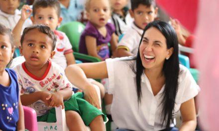 Gobernación de Bolívar lleva alegría a Magangué