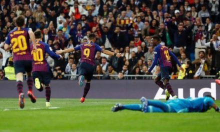 Sin Jeison Murillo, el FC Barcelona  deja al Madrid fuera de copa