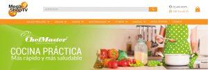 Utensilios de cocina innovadores Chef Master, la línea de cocina exclusiva de Mega Shop TV